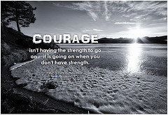 courage photo