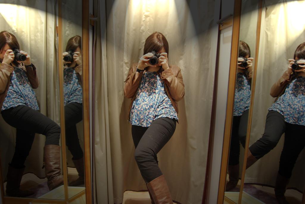 mirror image photo