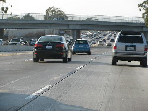 interstate traffic photo