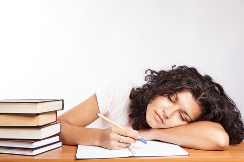 studying books photo