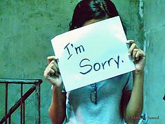 apologize photo