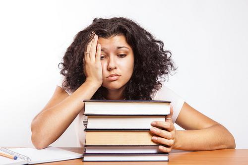 college exam photo