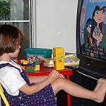 watching TV photo