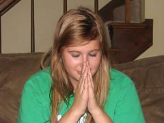 people praying photo