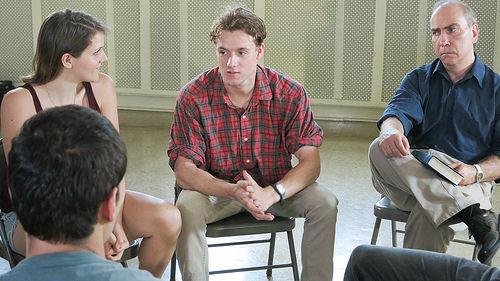 alcoholic anonymous meeting photo
