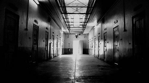 dark prison photo